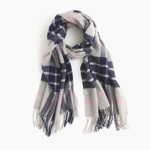 J Crew Plaid Scarf